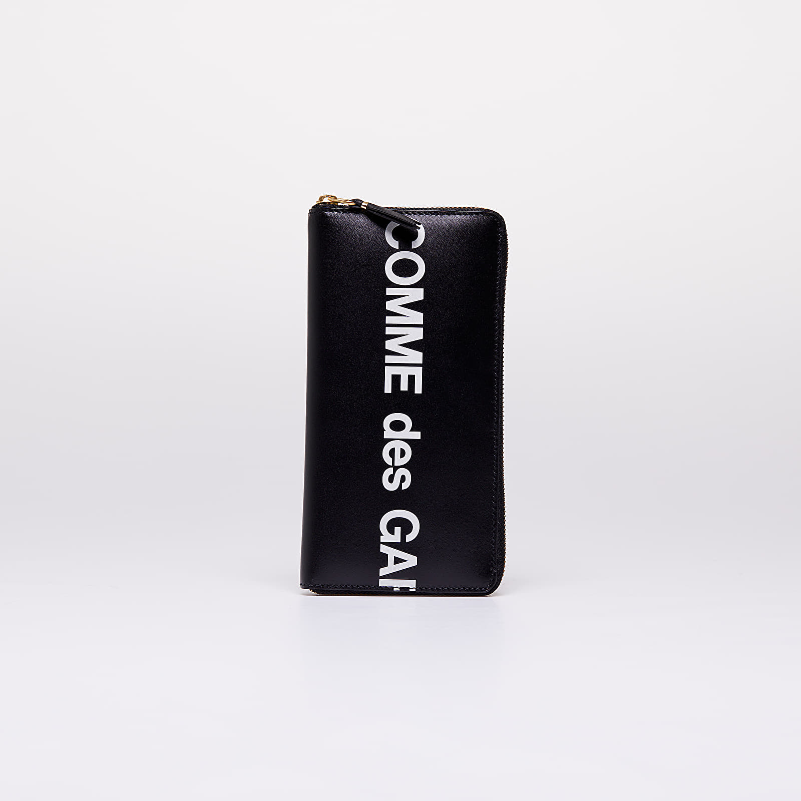 Portemonnaies Comme des Garçons Huge Logo Wallet Black