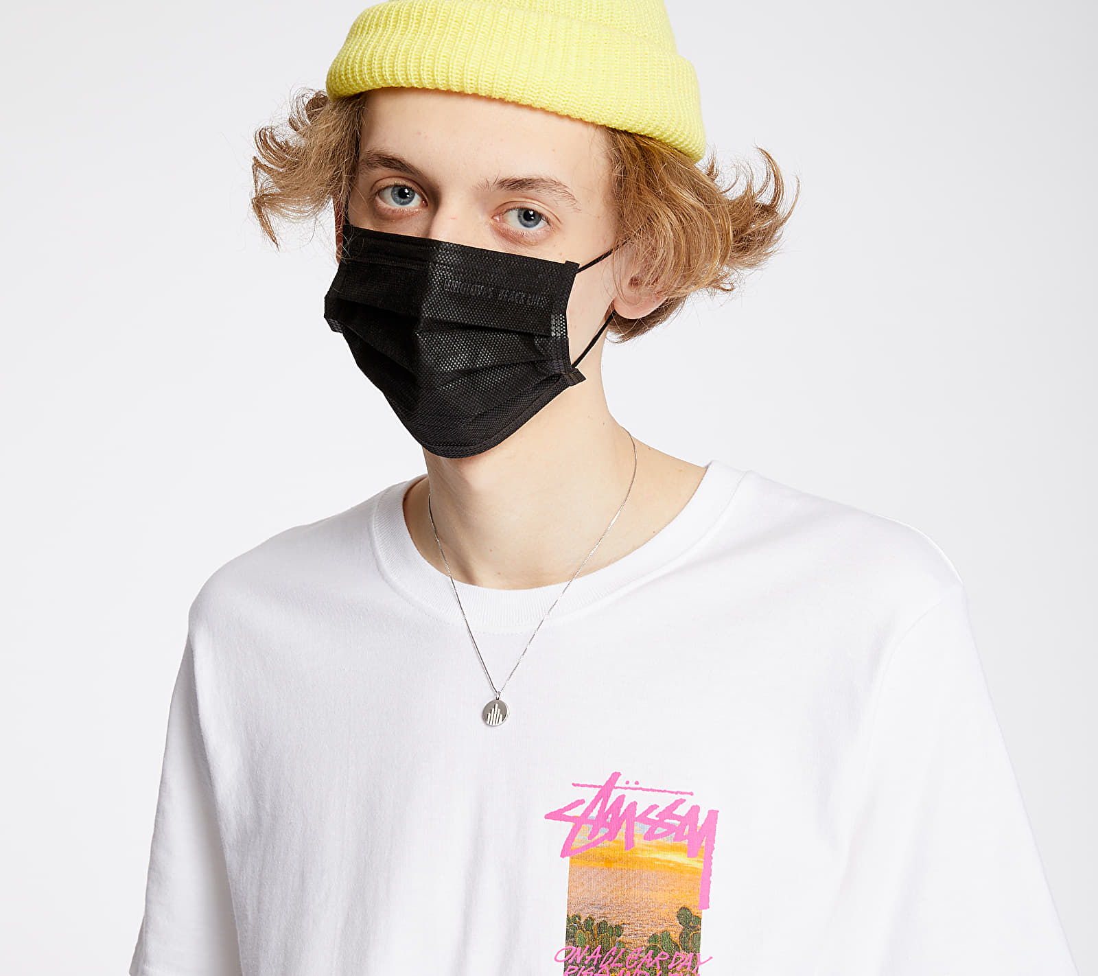 Stüssy Clear Day Tee White