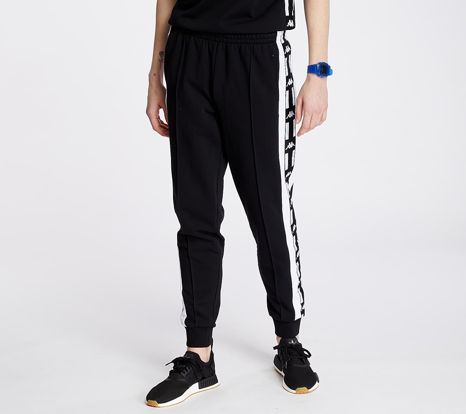 Kappa Authentic La Ciovan Pants Black/ White