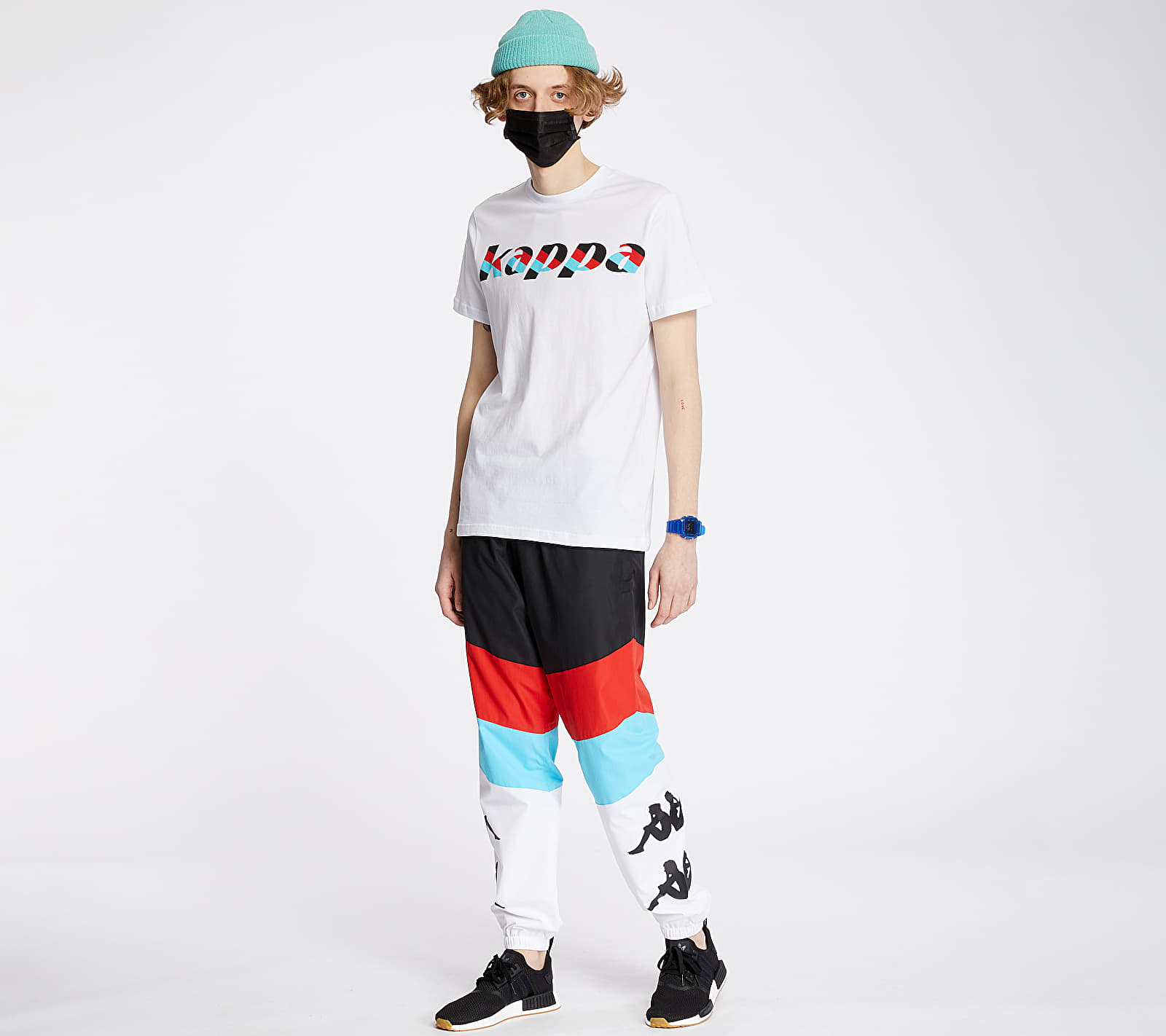 Kappa Authentic Race Cantid Tee White