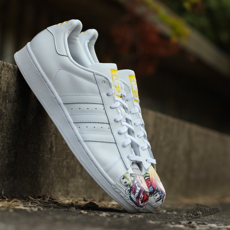new arrival e79f3 dfe40 adidas Superstar Pharrell Supershell Ftw White  Ftw White  Yellow