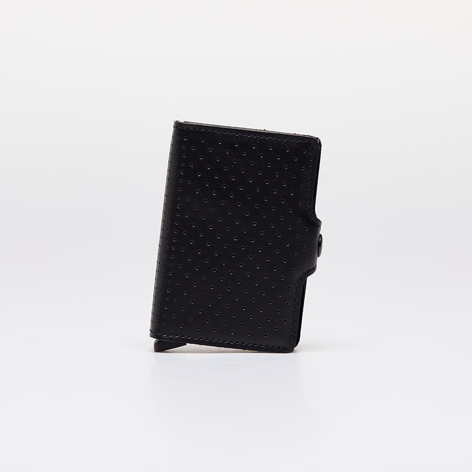 Peňaženky SECRID Twinwallet Perforated Black