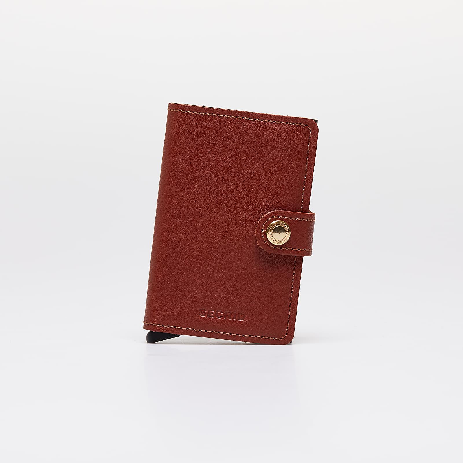 Portemonnaies Secrid Miniwallet Original Cognac-Brown
