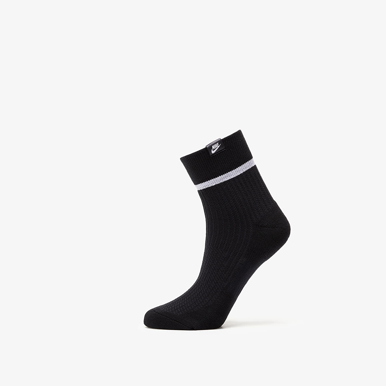 Zoknik Nike Sneaker Essential Ankle Sox 2 Pair Black/ White/ White