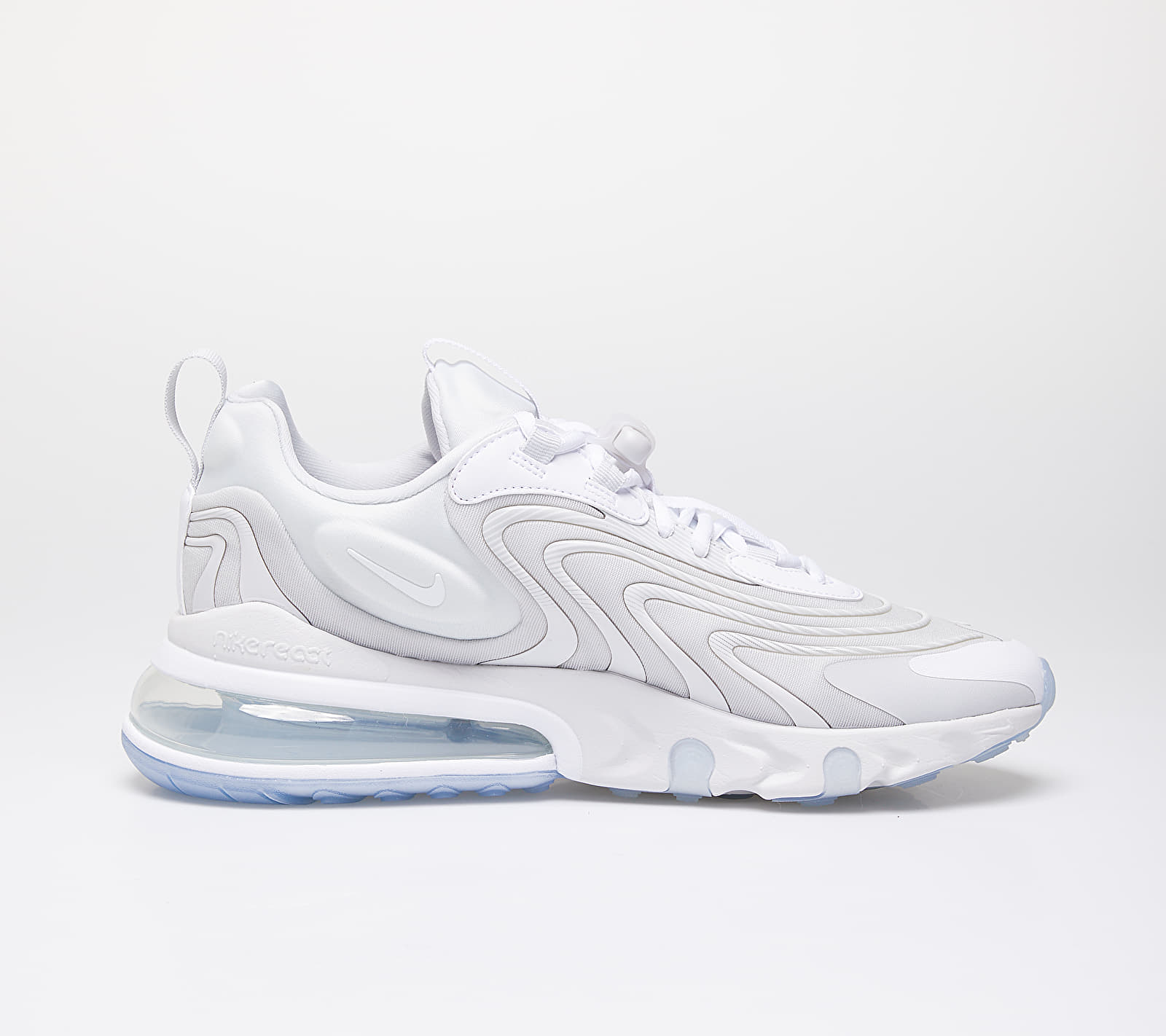 Nike Air Max 270 React Eng Photon Dust/ White-Platinum Tint, Gray