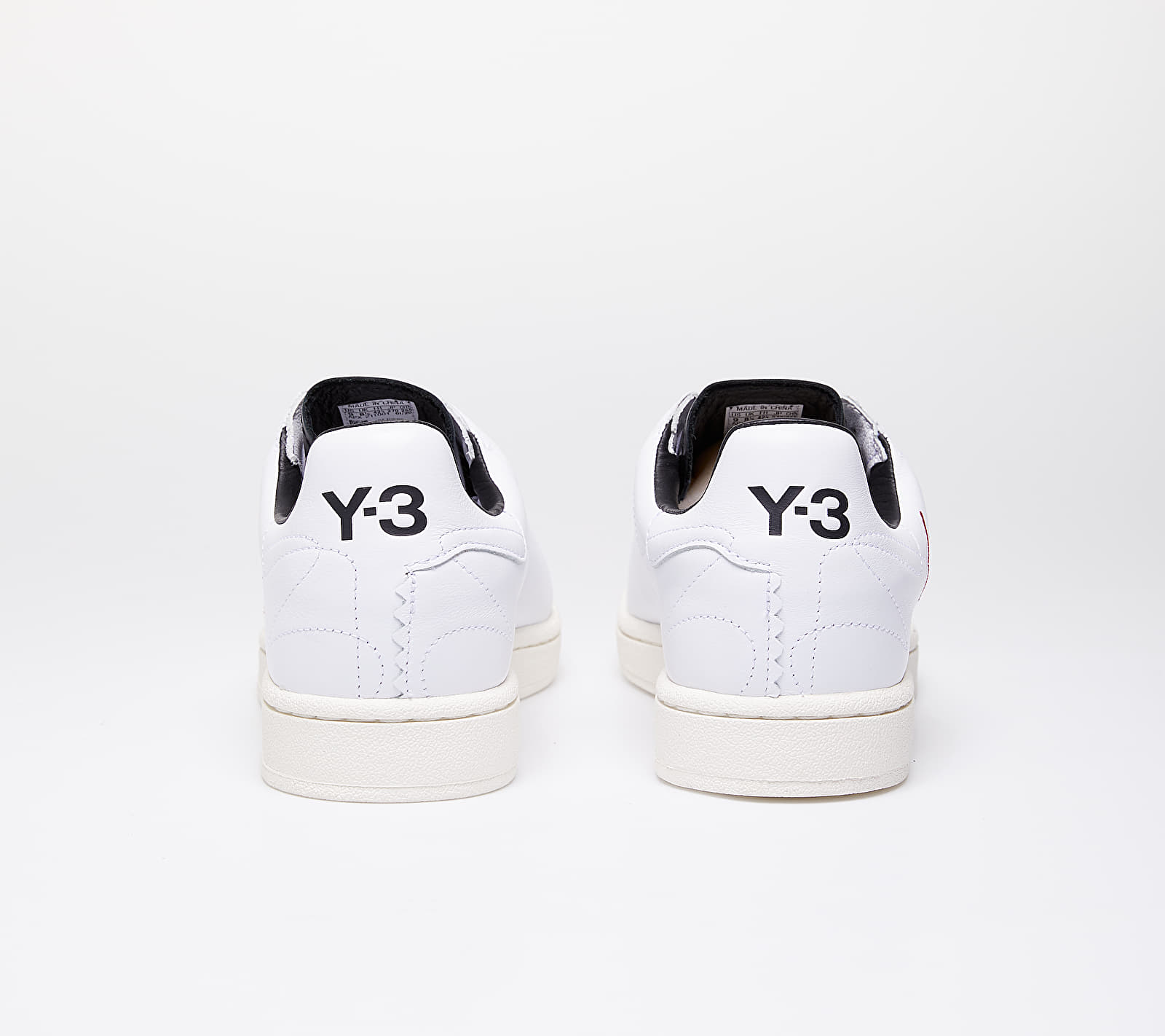 Y-3 Yohji Court Ftw White/ Red/ Black