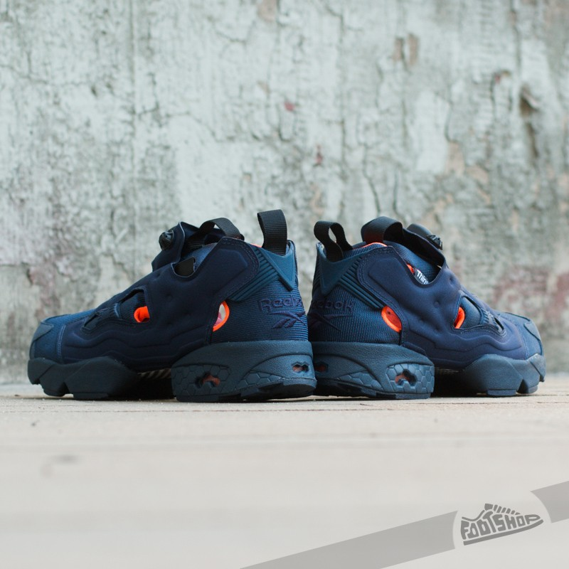 Reebok Instapump Fury Tech Collegiate NavySolar OrangeWhite | Footshop
