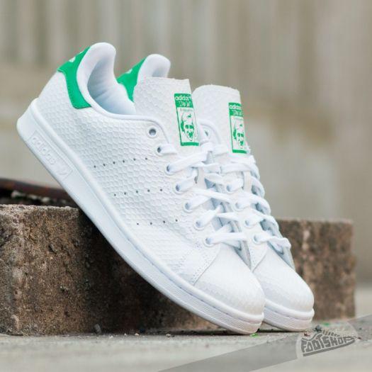 super cute 2688c 3ba8b adidas Stan Smith W Ftw White/ Green | Footshop