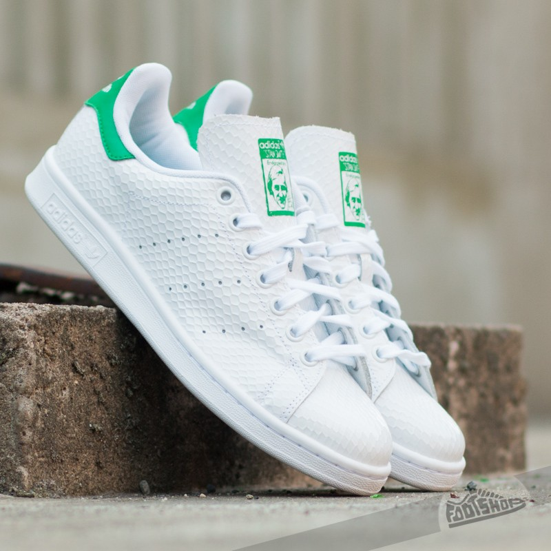 super cute fe171 296c2 adidas Stan Smith W Ftw White/ Green | Footshop