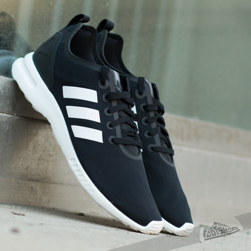 Women S Shoes Adidas Zx Flux Smooth W Core Black White Footshop