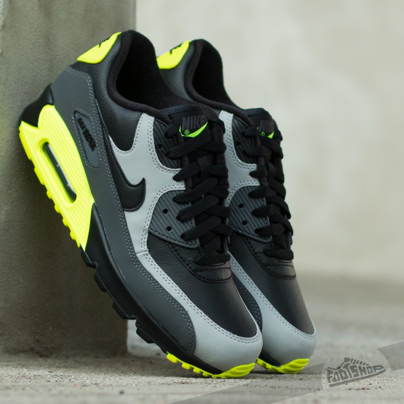 Nike Air Max 90 LTR Black Wolf Grey Dark Grey  e52e14e2f