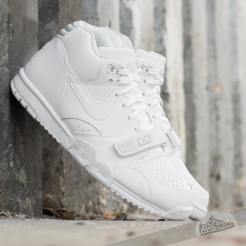 01c9727a70a Nike Air Trainer 1 Mid White Pure Platinum