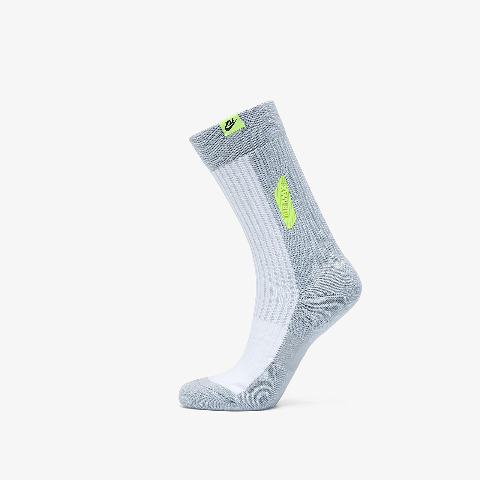 Ponožky Nike Sneaker Air Max 90 Crew Sox White/ VoLight/ Black