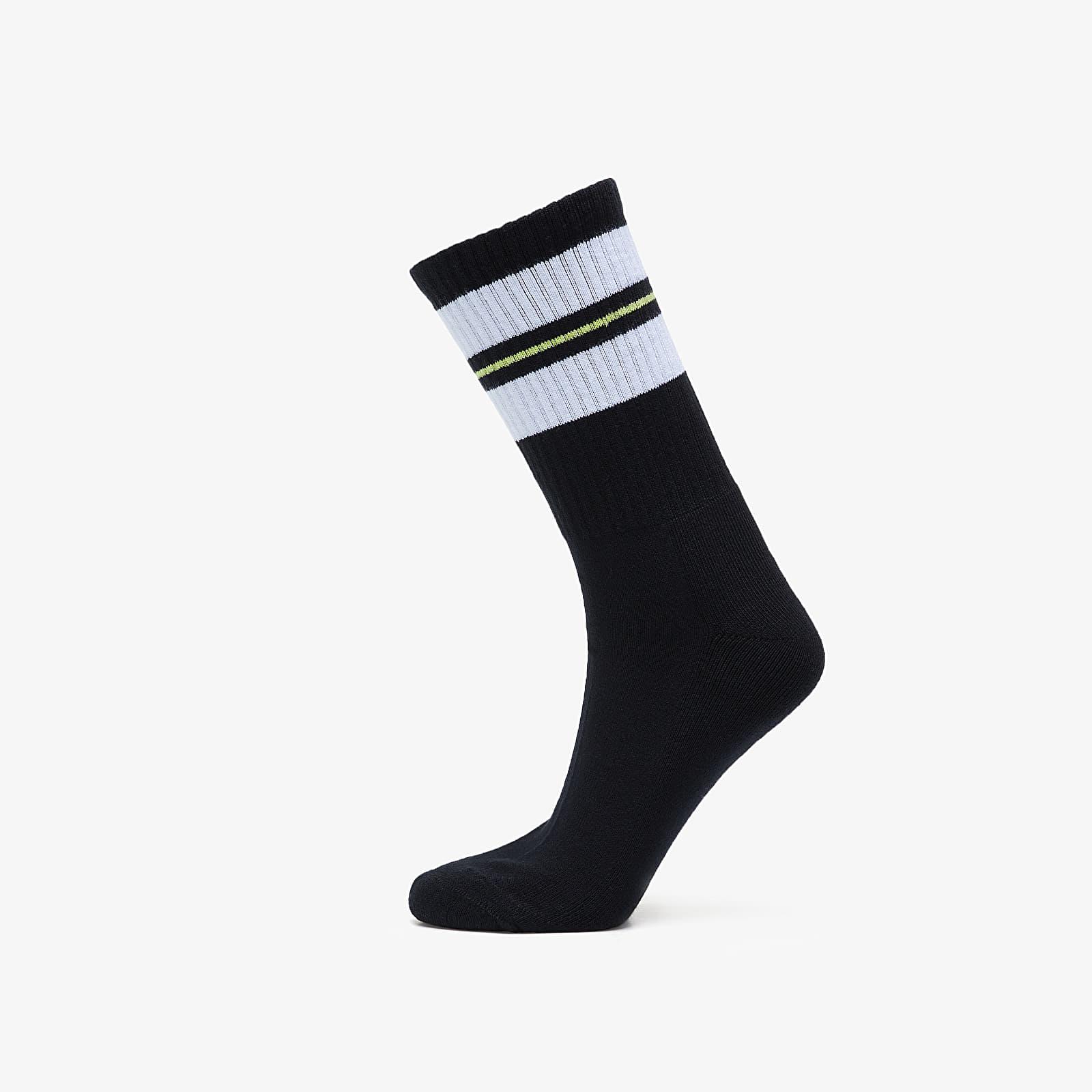 Носки Carhartt WIP Norwood Socks Black/ White/ Lime