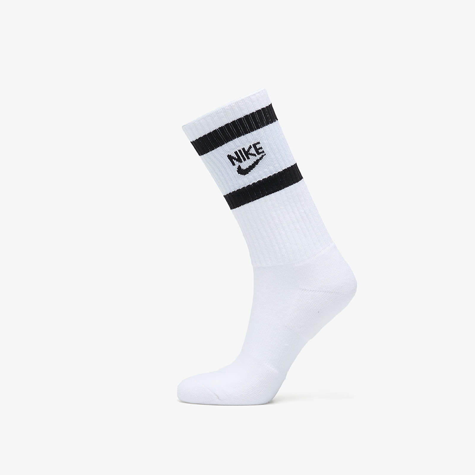 Socken Nike Heritage 2 Pair Crew Socks White/ Black