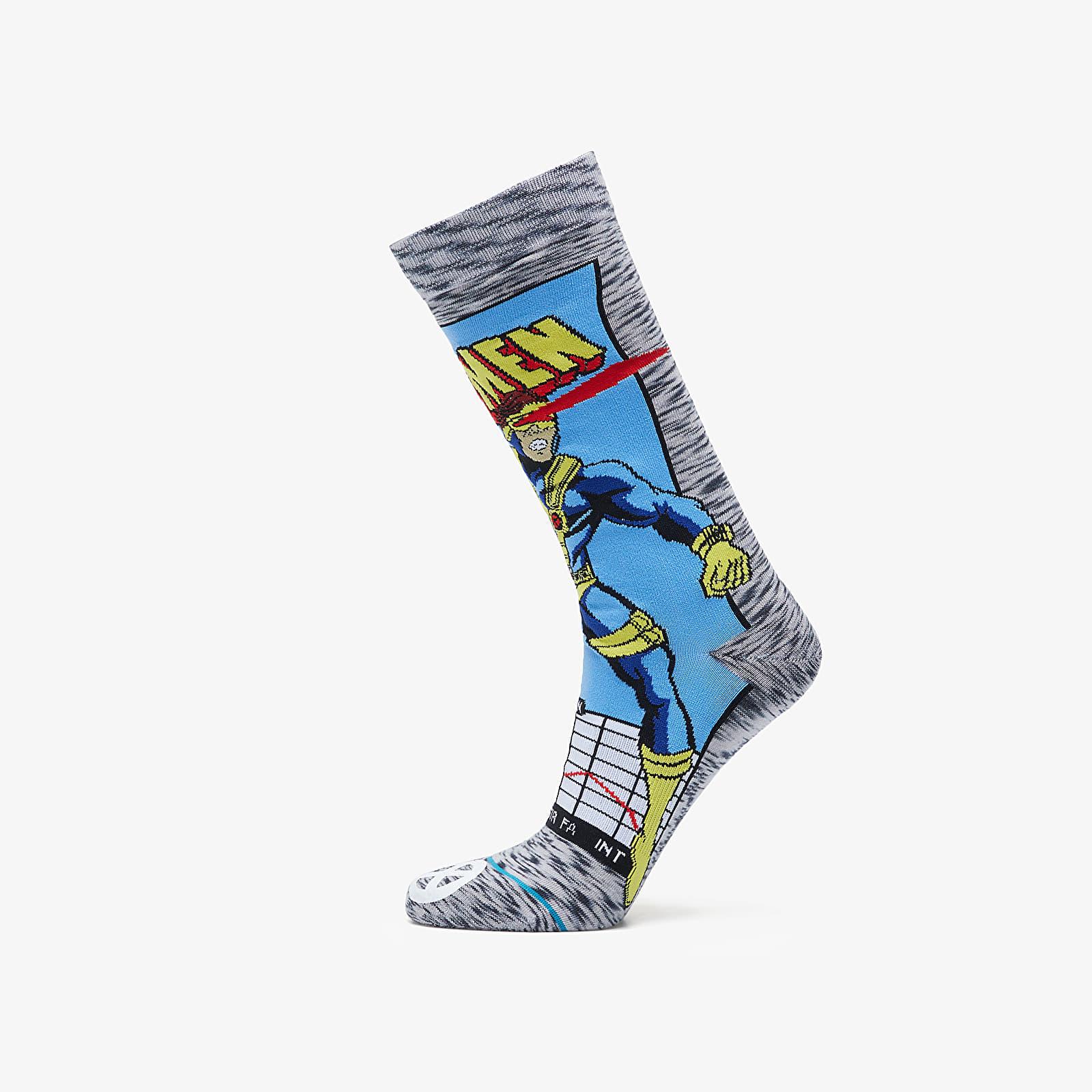 Socks Stance x X-Men Cyclops Comic Socks Grey