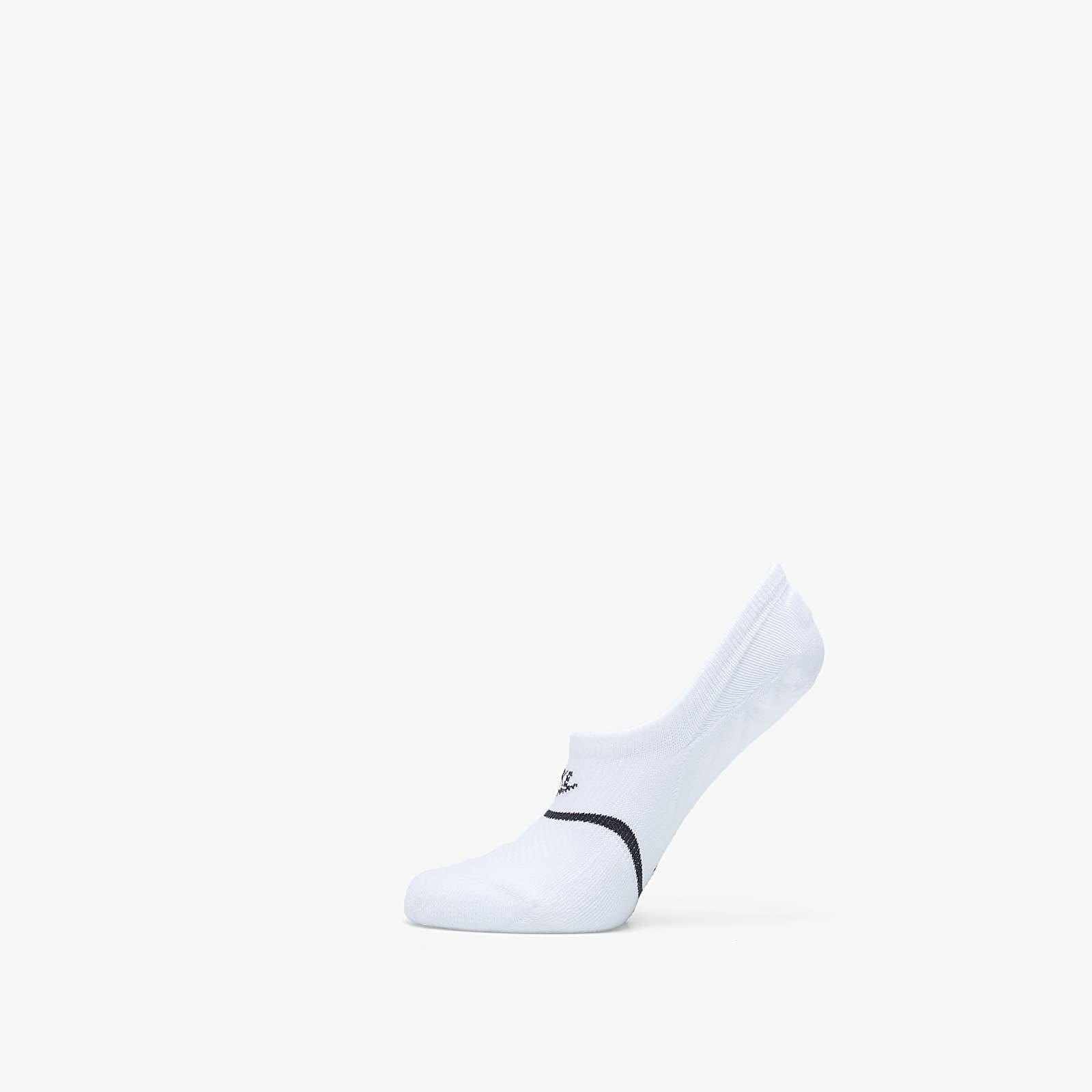 Socken Nike Sneaker Sox Essential Ns Footie (2 Pairs) White/ Black