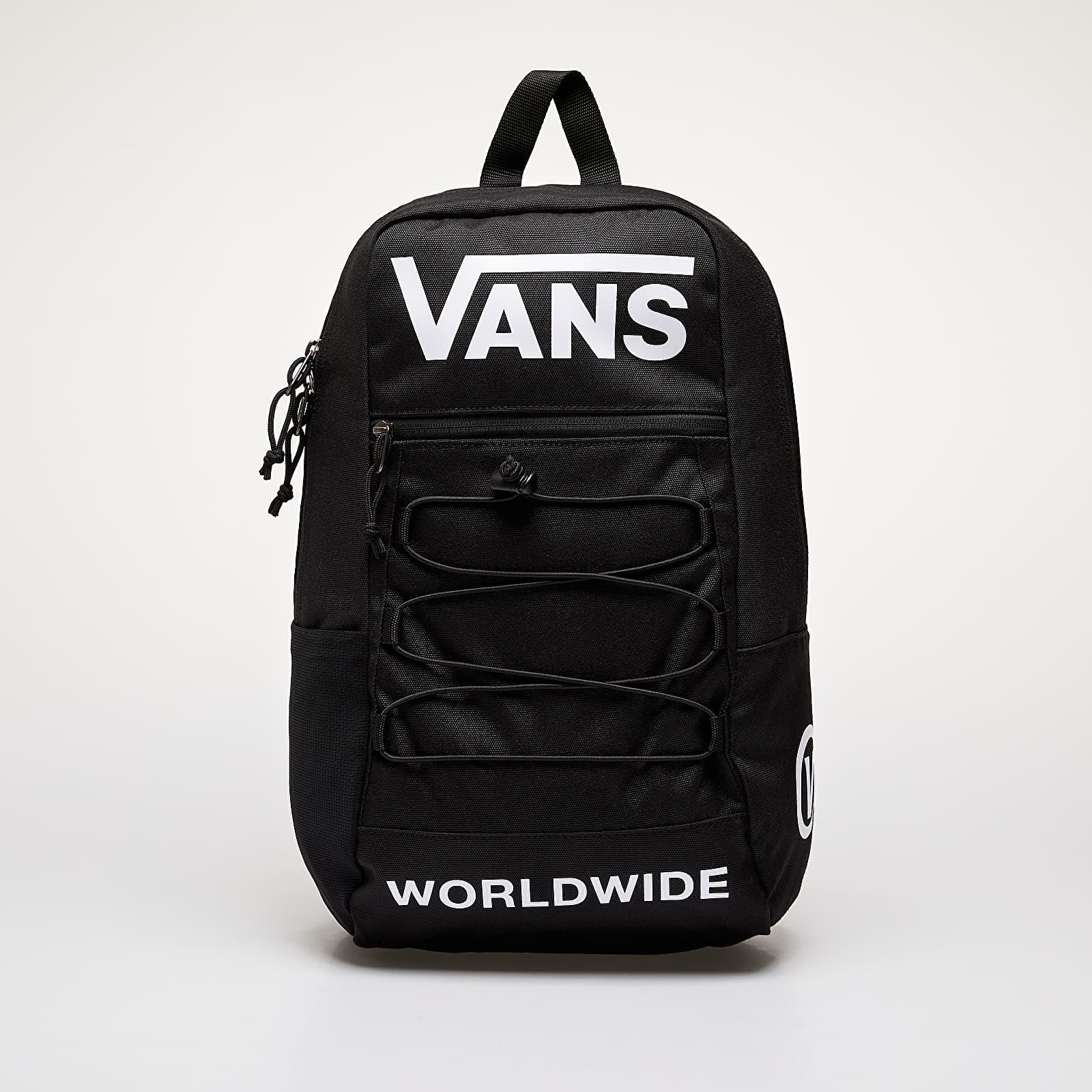 Batohy Vans Snag Backpack Black Distortio