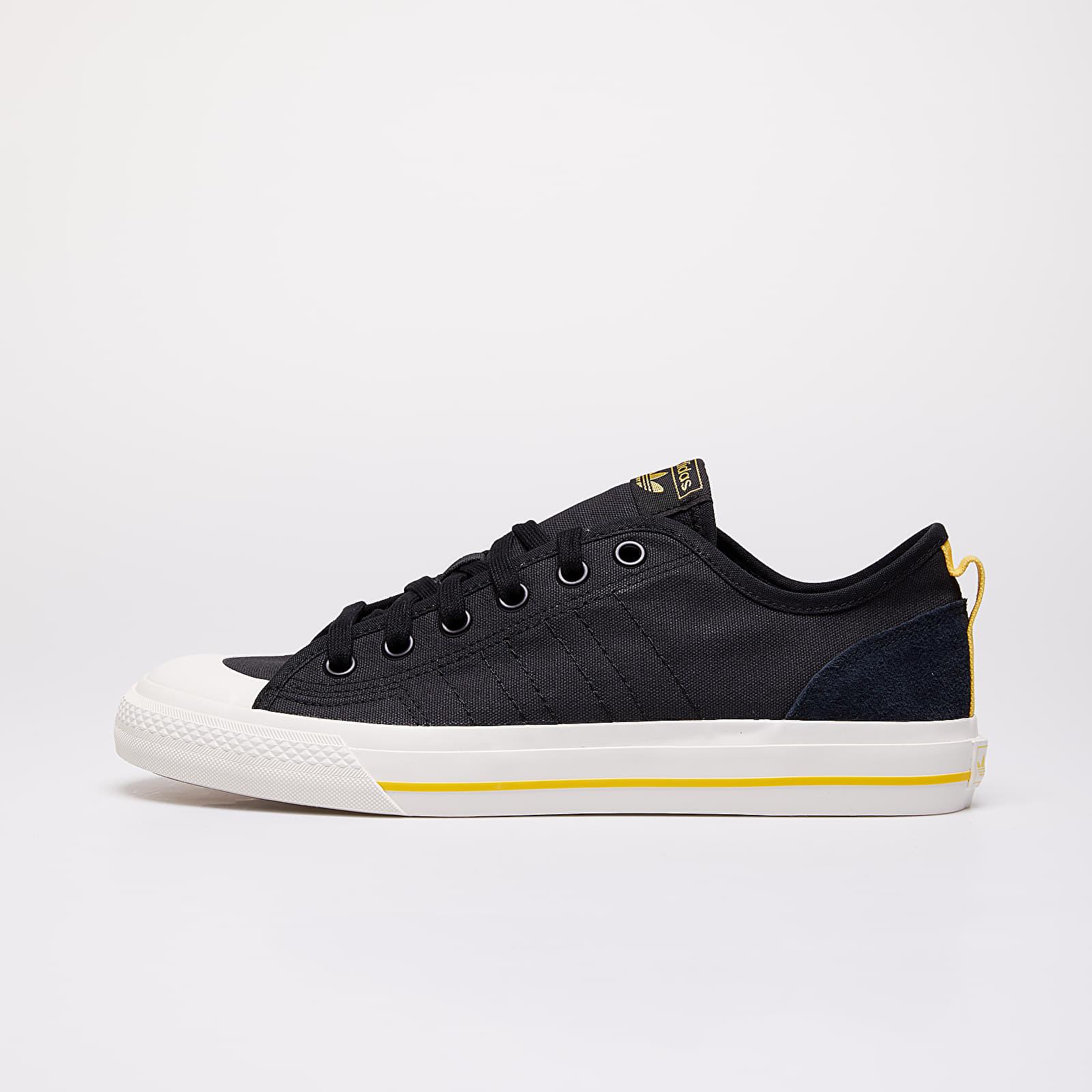 Scarpe e sneaker da uomo adidas Nizza RF Core Black/ Off White/ Core Brown