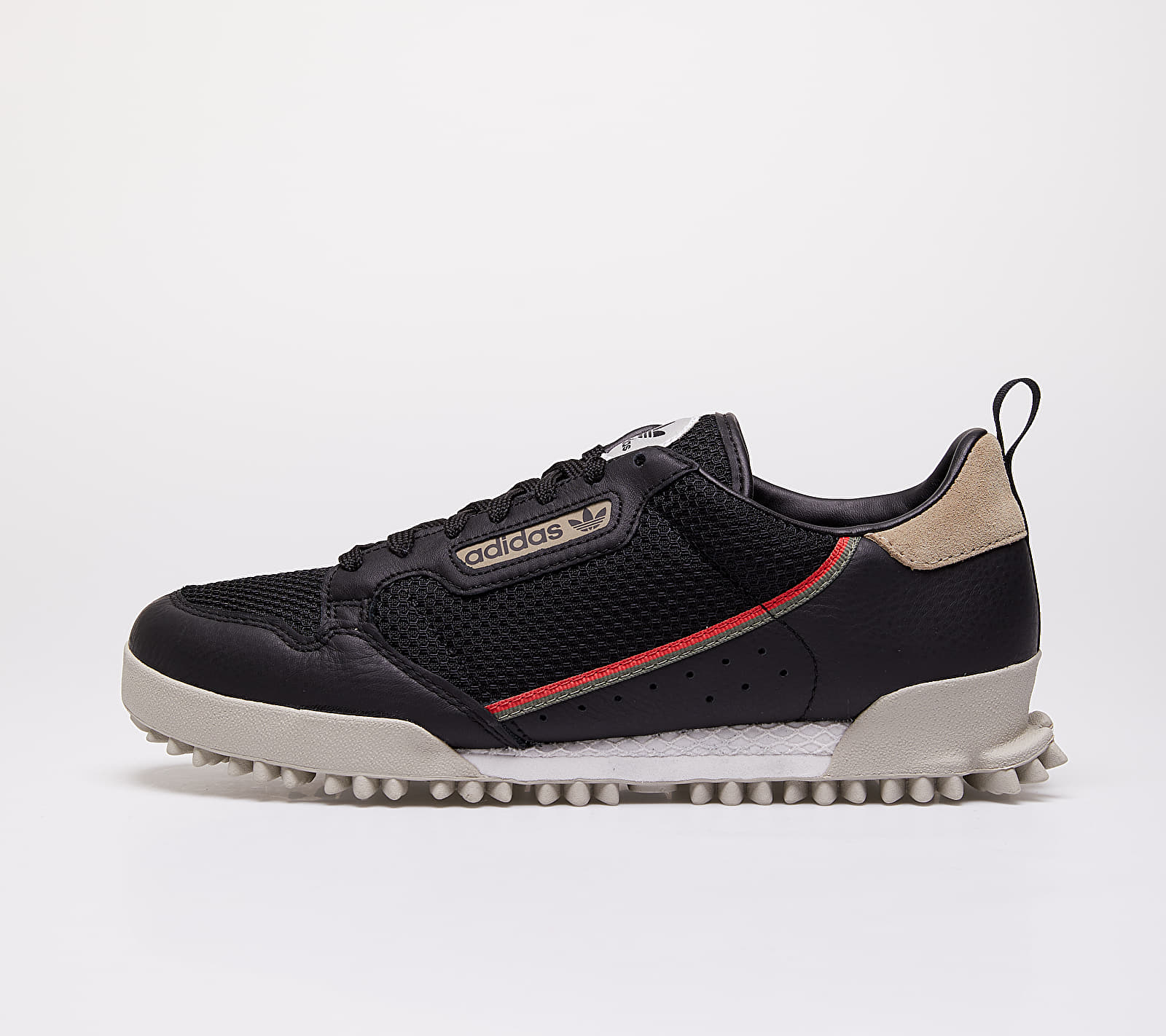 adidas Continental 80 Baara Core Black/ Glow Red/ Orb Grey EUR 46