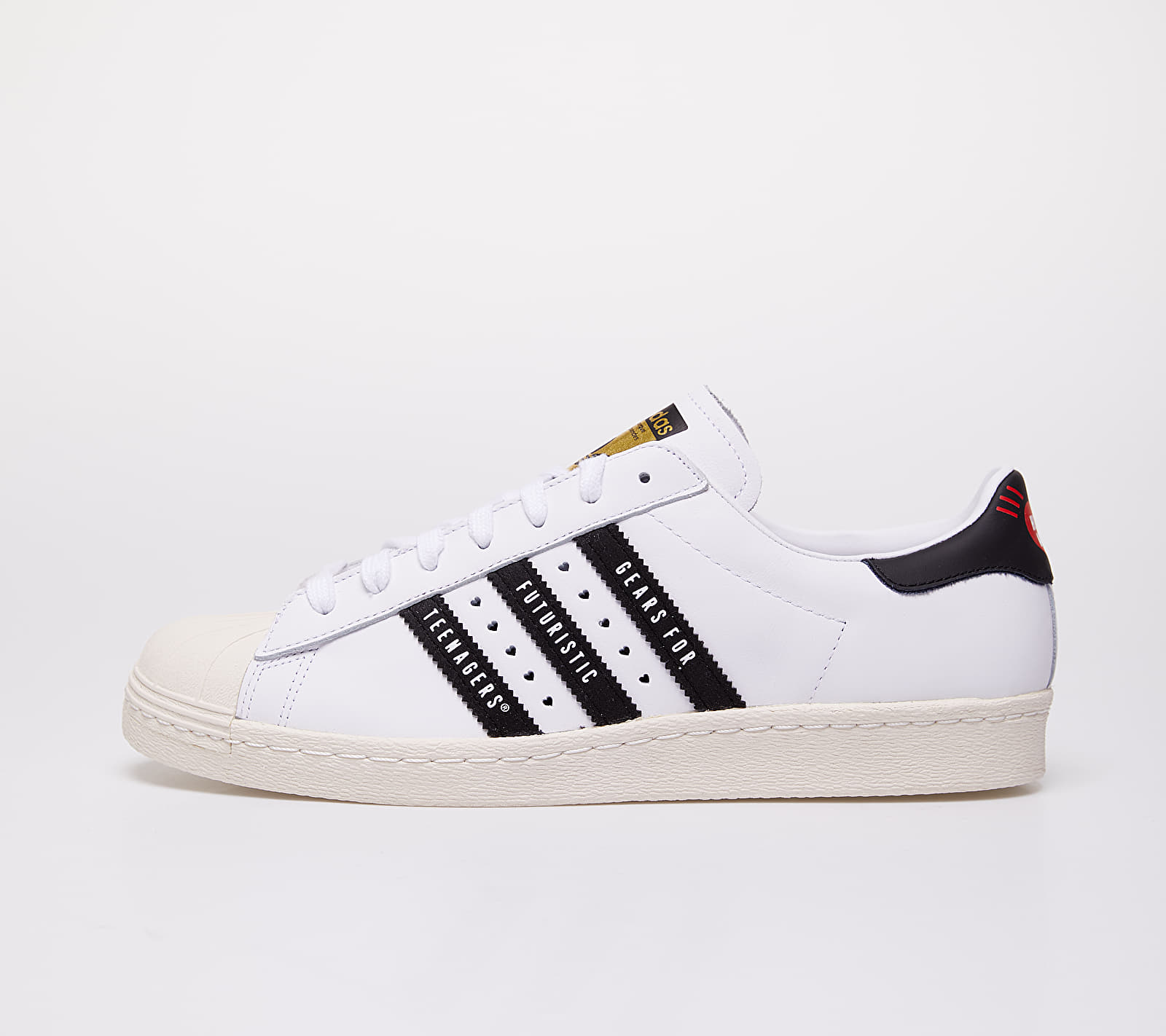 adidas x Pharrell Williams Superstar 80s Human Made Ftwr White/ Core Black/ Off White EUR 39 1/3