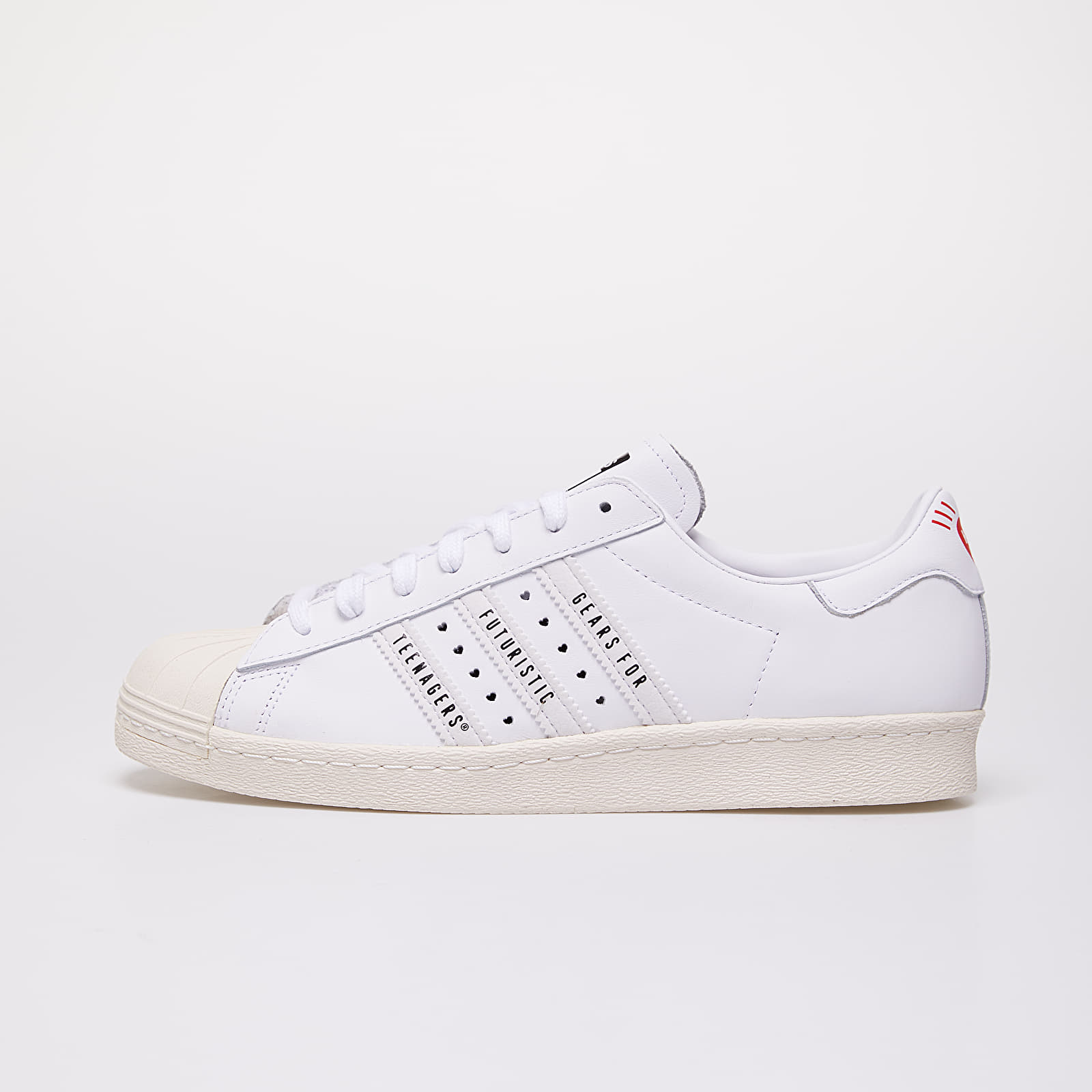 Pánské tenisky a boty adidas x Pharrell Williams Superstar 80s Human Made Core Black/ Ftwr White/ Off White