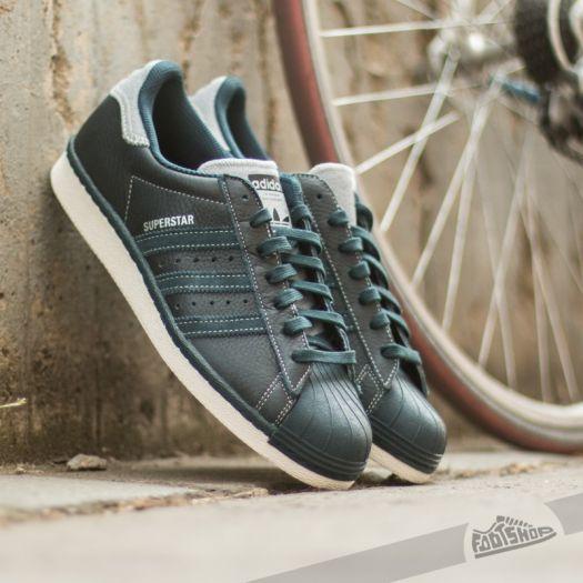 order online separation shoes cheap for discount adidas Superstar 80s Varsity Jack Petrol Ink / Petrol Ink / Matte ...