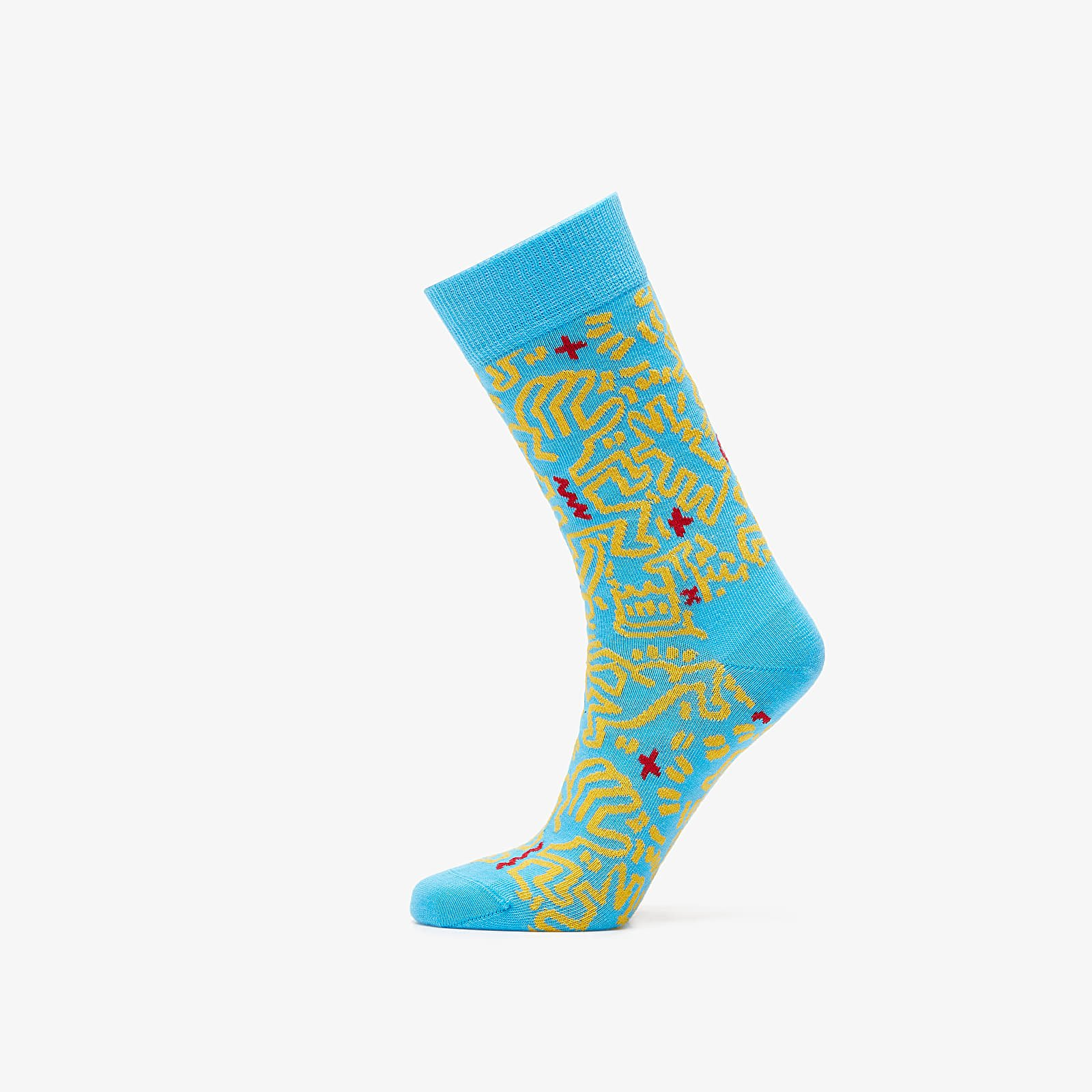 Chaussettes Happy Socks Keith Haring All Over Socks Multicolor