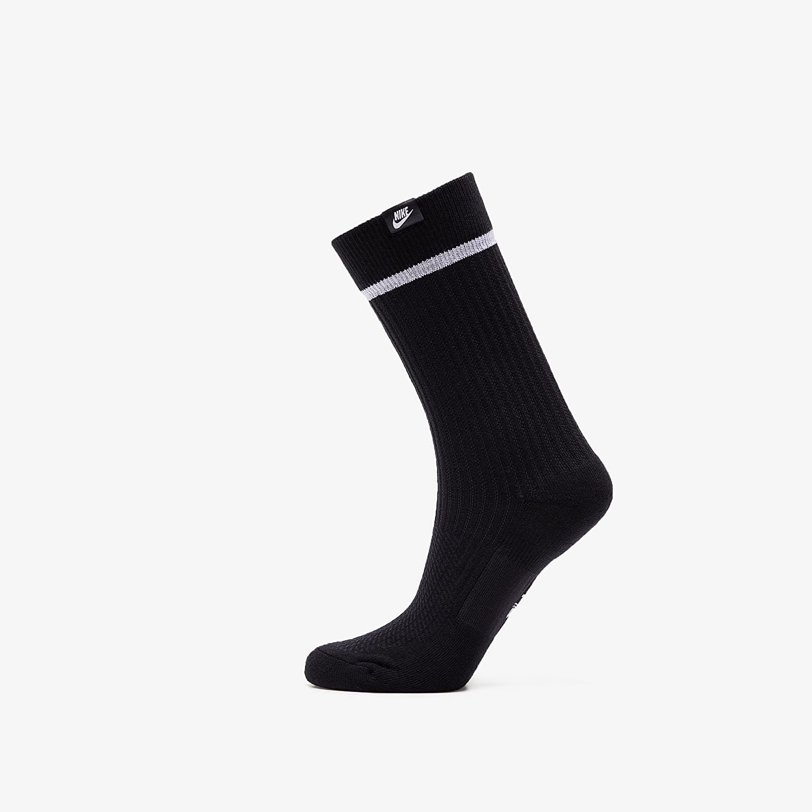 Socken Nike Essential Crew Sneaker Sox Black
