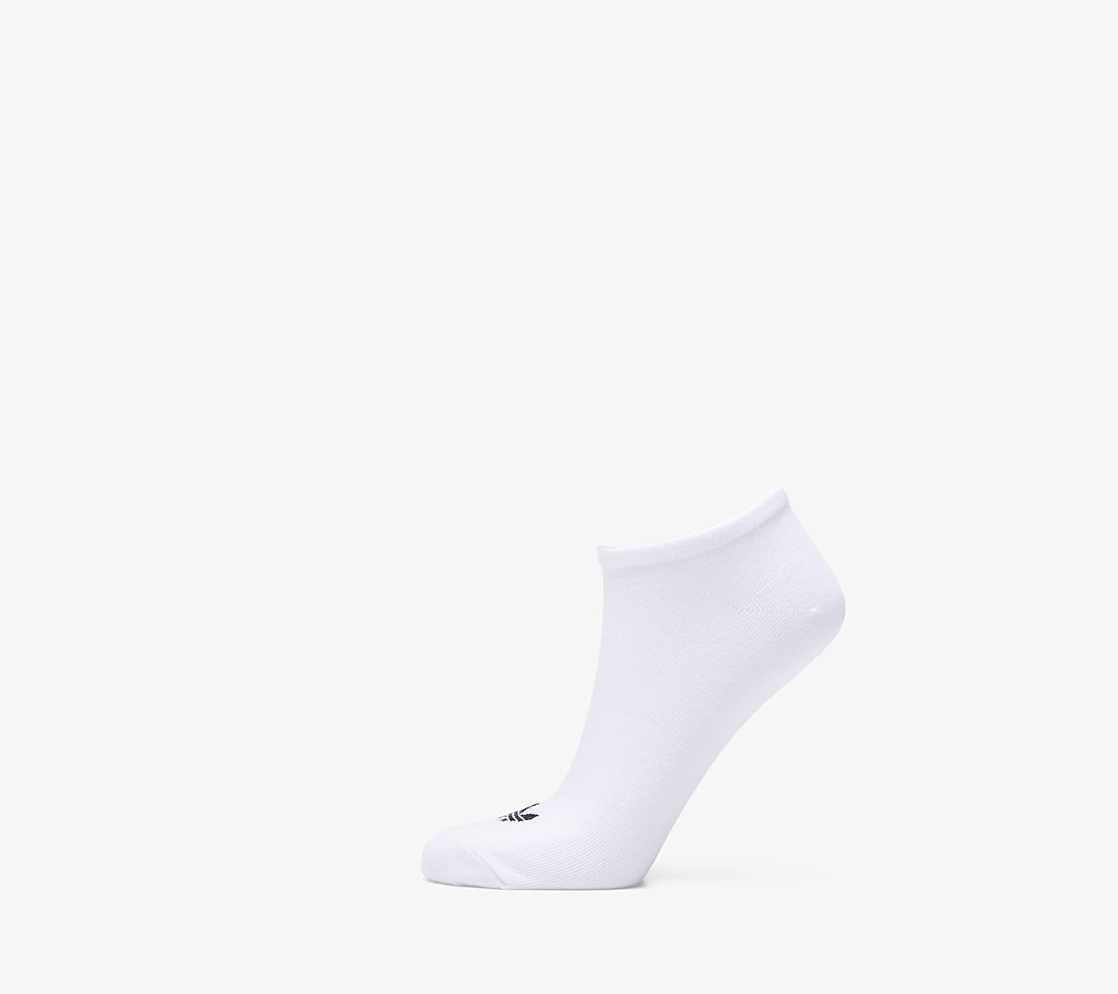 adidas Trefoil Liner Socks 3 Pairs White 39-42