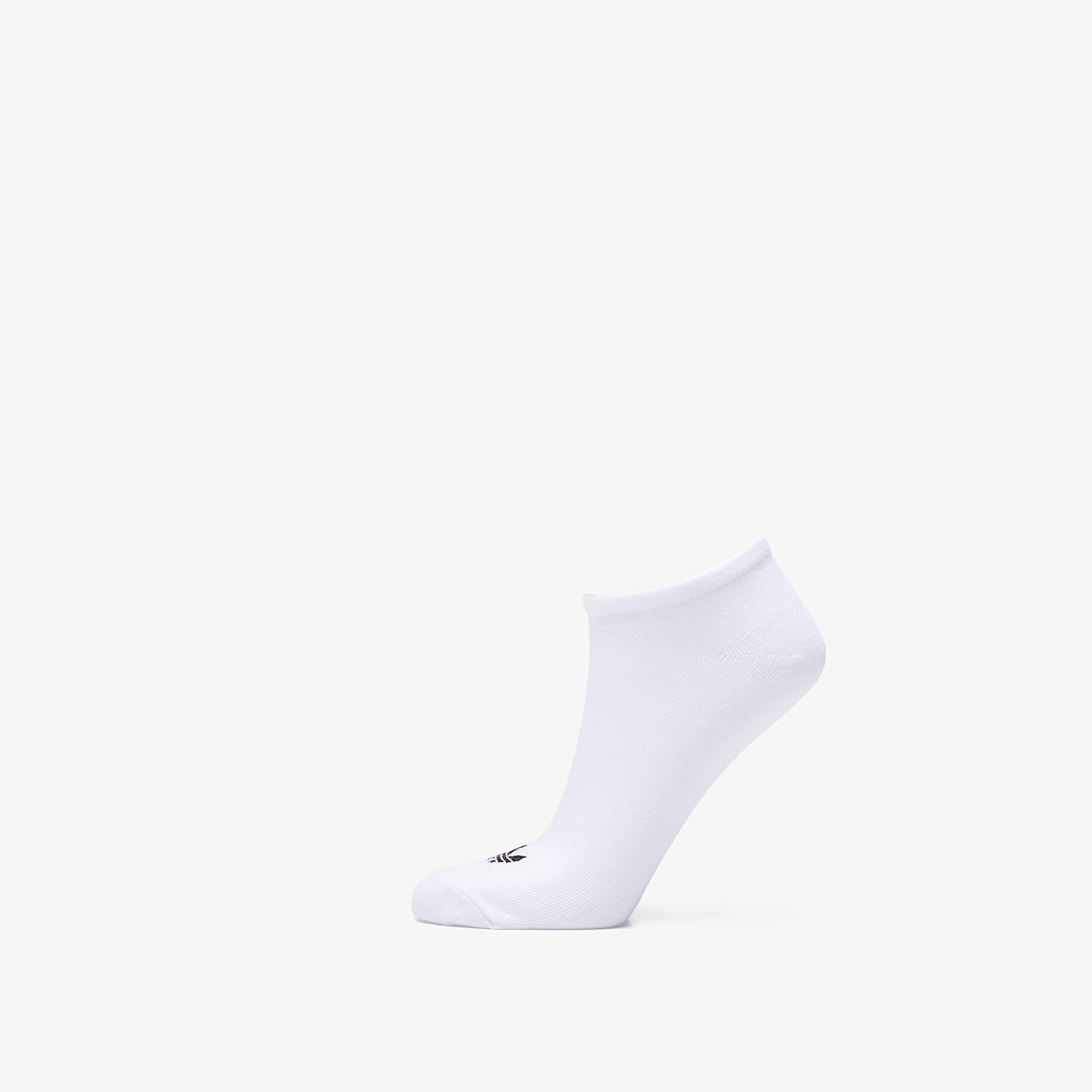 Socks adidas Trefoil Liner Socks 3 Pairs White