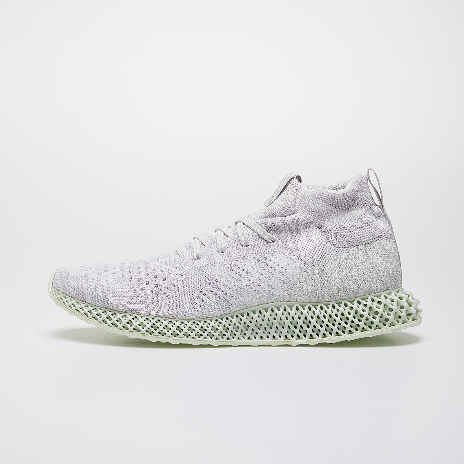 Men's shoes adidas Consortium Runner Mid 4D White/ White/ White