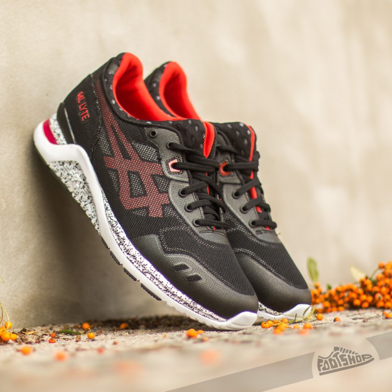 Guión De vez en cuando Movilizar  Men's shoes Asics Gel Lyte Evo Black/ Red