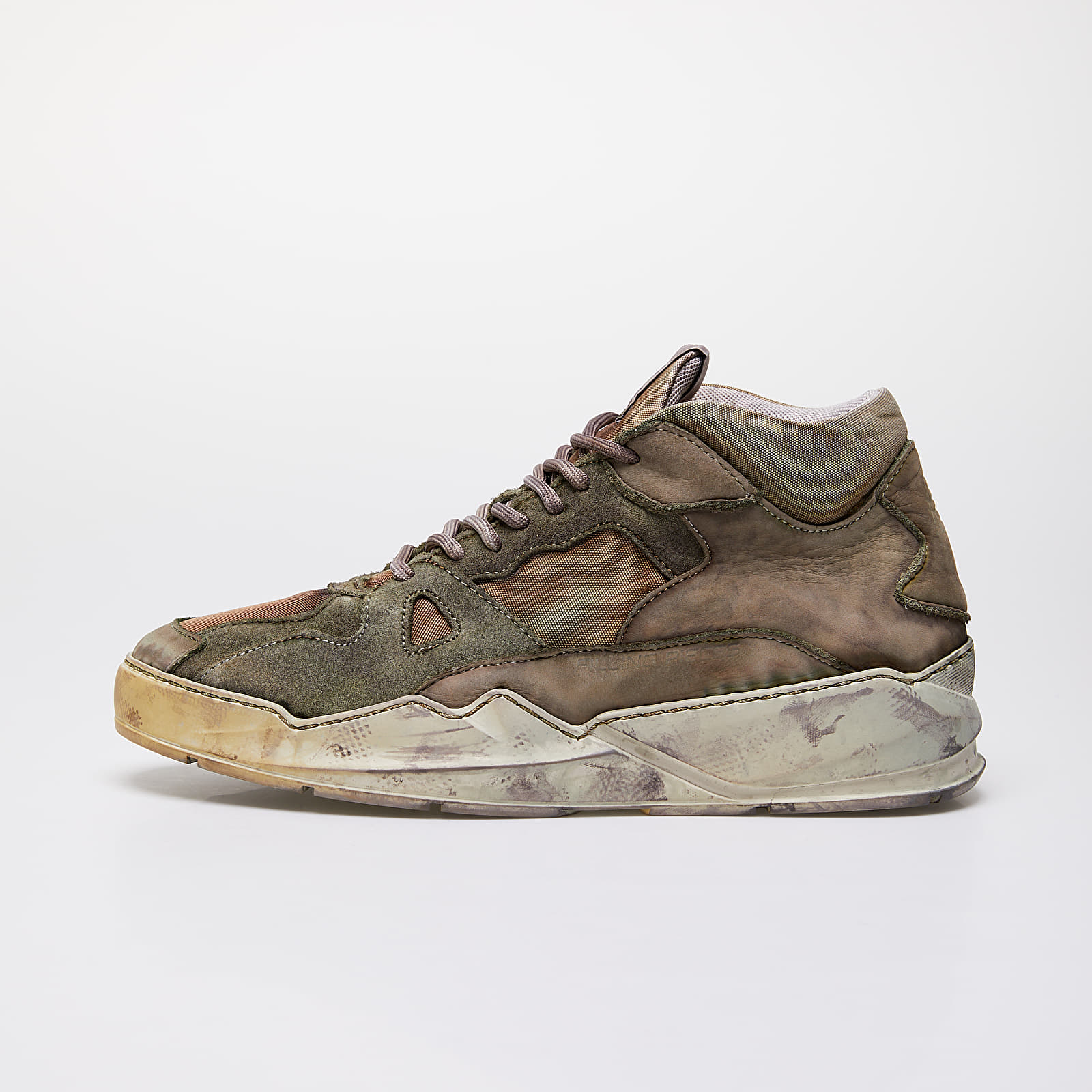 Men's shoes Filling Pieces Lay Up Icey Dip Dye Dark Green