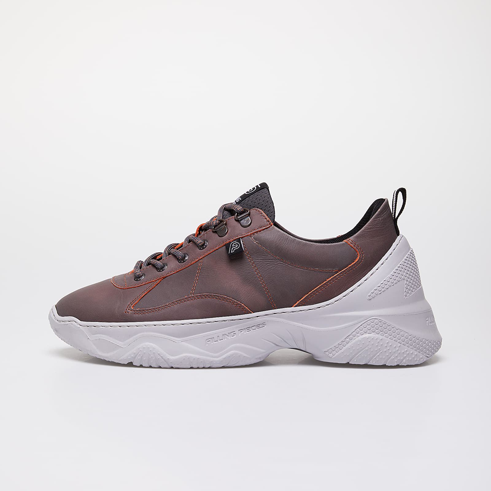 Chaussures et baskets homme Filling Pieces Low Meno Shuttle Chroma Black