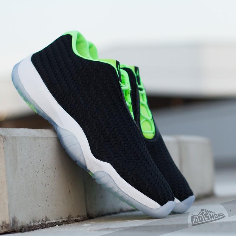 16dab37bab1e58 Air Jordan Future Low Black Ghost Green-White