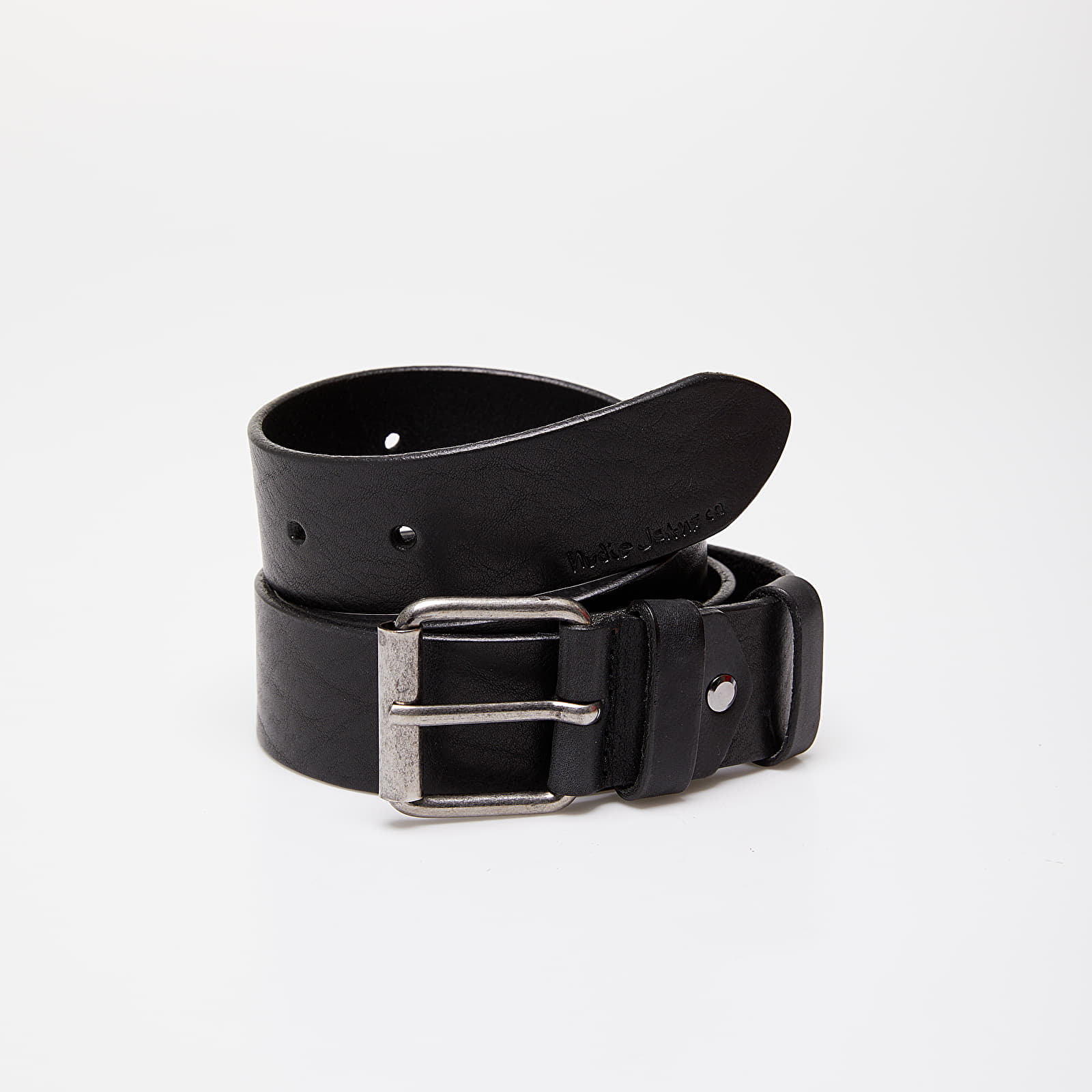 Belts Nudie Jeans Pedersson Leather Belt Black