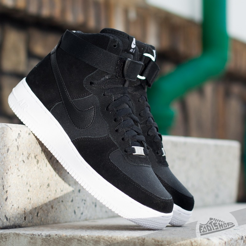 33e631c9410 Nike Air Force 1 High ´07 Black Black-White