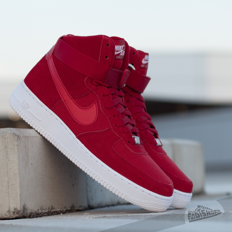 air force one white gym red