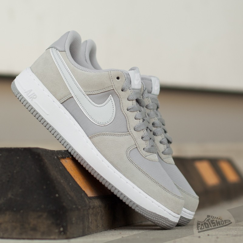 Nike Air Force 1 Wolf Grey Pure Platinum White | Footshop