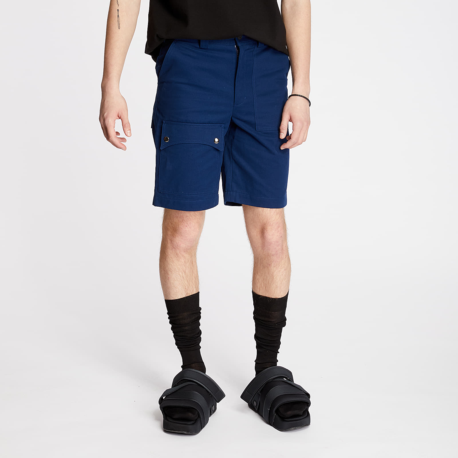 "Kurzhosen FTSHP + LAFORMELA ""No Season"" Twill Shorts Navy"