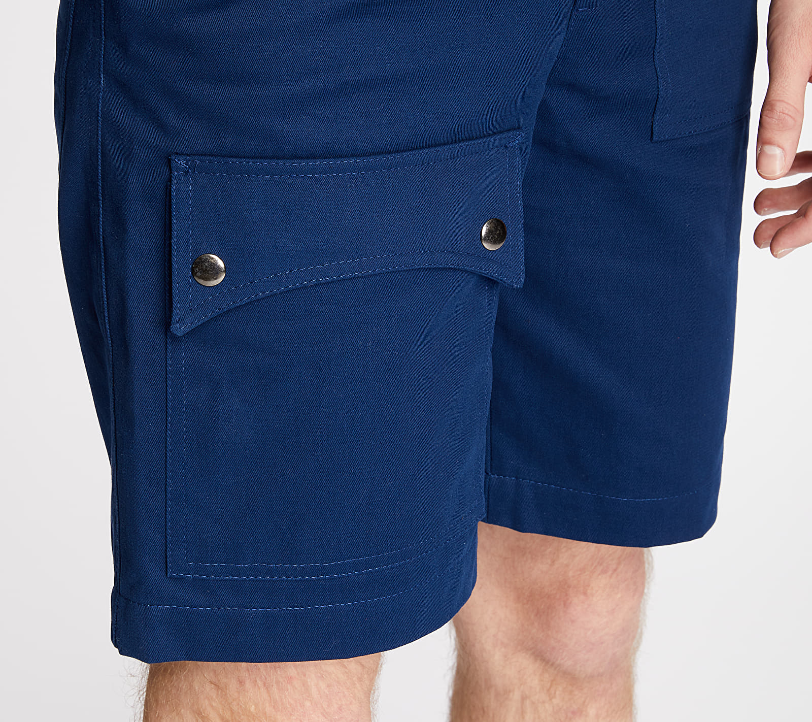 "FTSHP + LAFORMELA ""No Season"" Twill Shorts Navy, Blue"