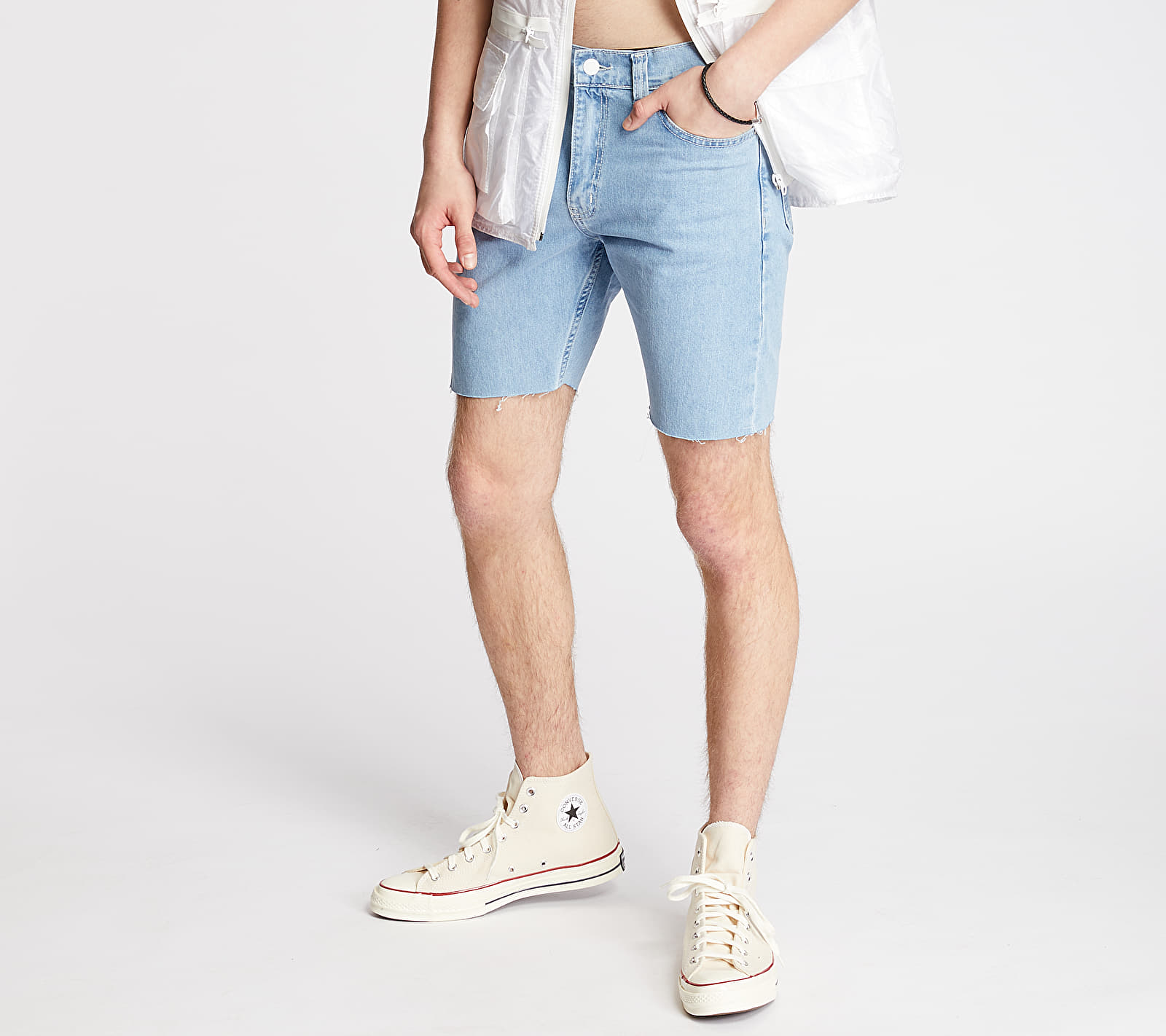 "FTSHP + LAFORMELA ""No Season"" Denim Shorts Blue"
