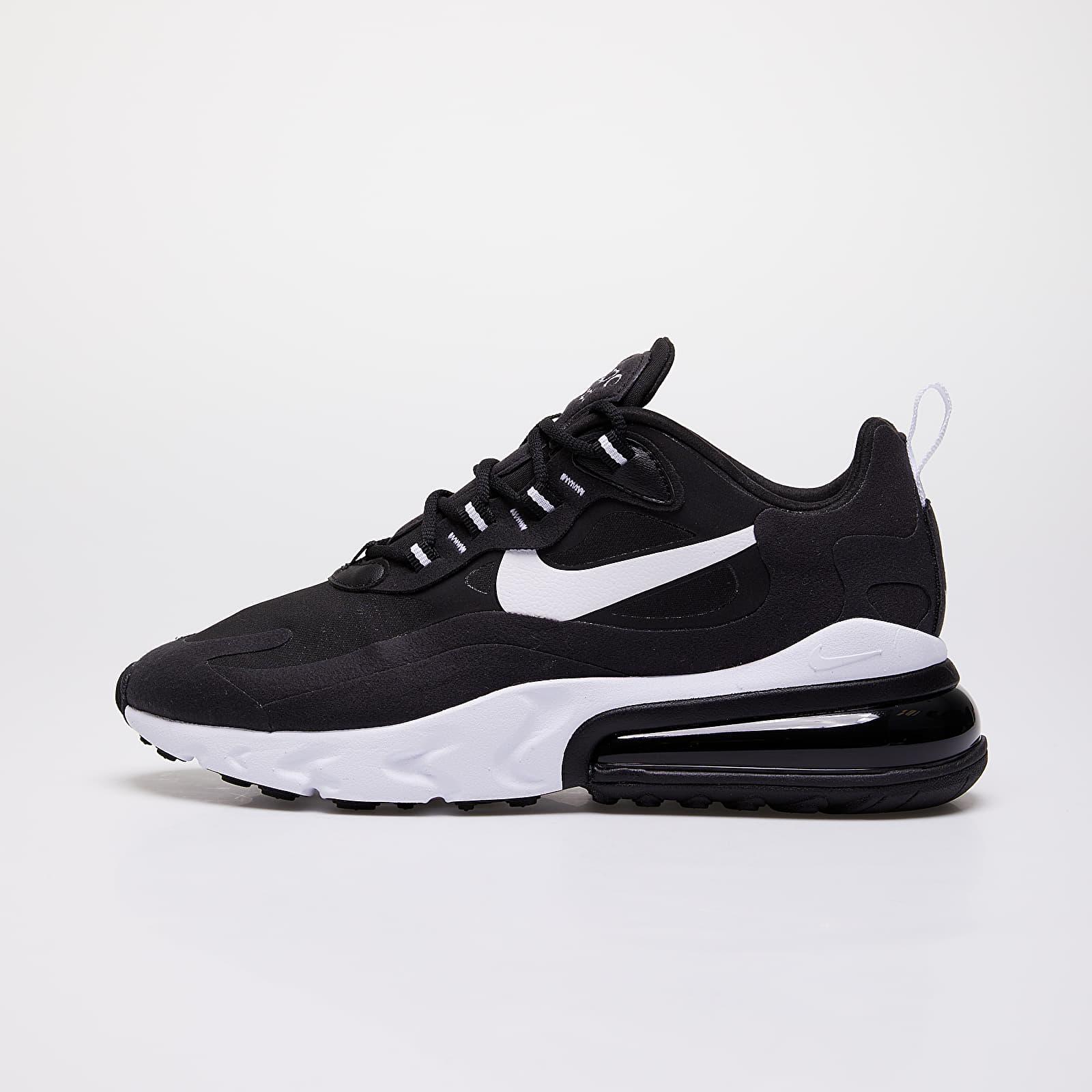Dámske topánky a tenisky Nike W Air Max 270 React Black/ White-Black-Black