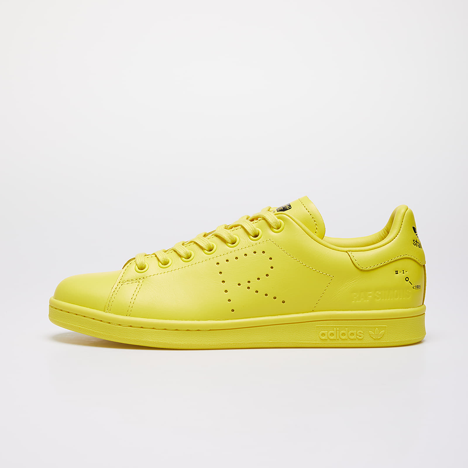 Men's shoes adidas x Raf Simons Stan Smith Bright Yellow/ Pure Yellow S08/ Ftw White