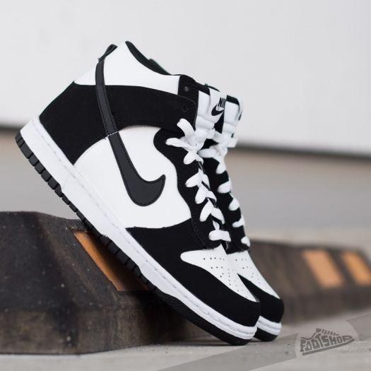shoes Nike Dunk High (GS) White/ Black