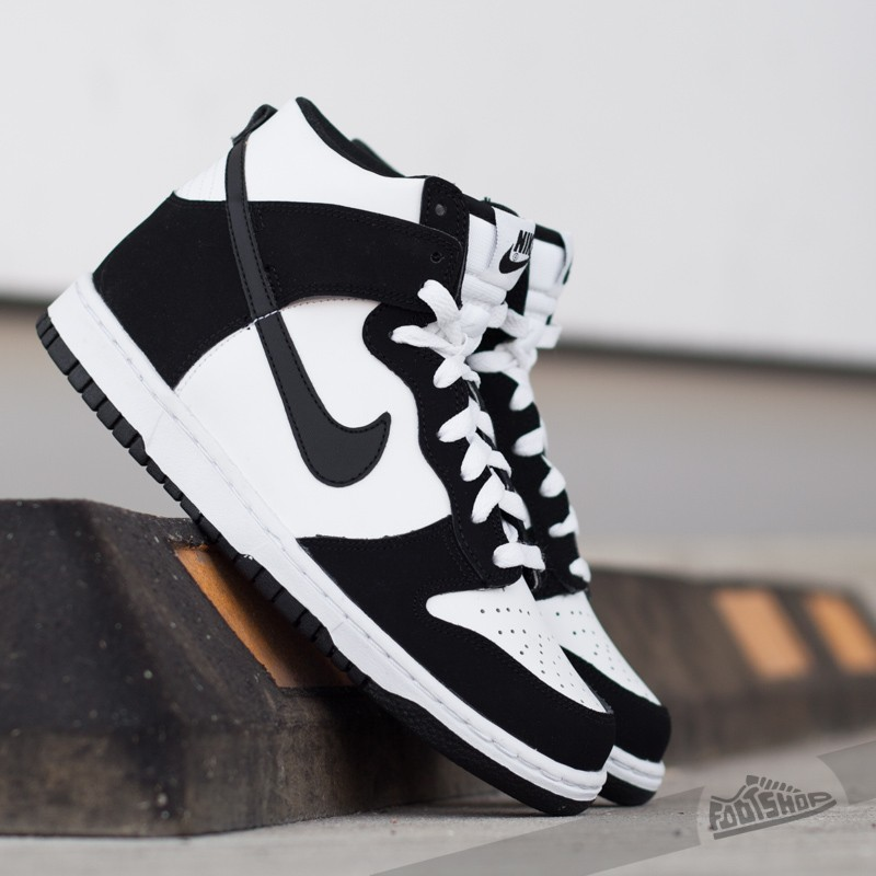 Nike Dunk High (GS) White  Black  256a5dcc5b87