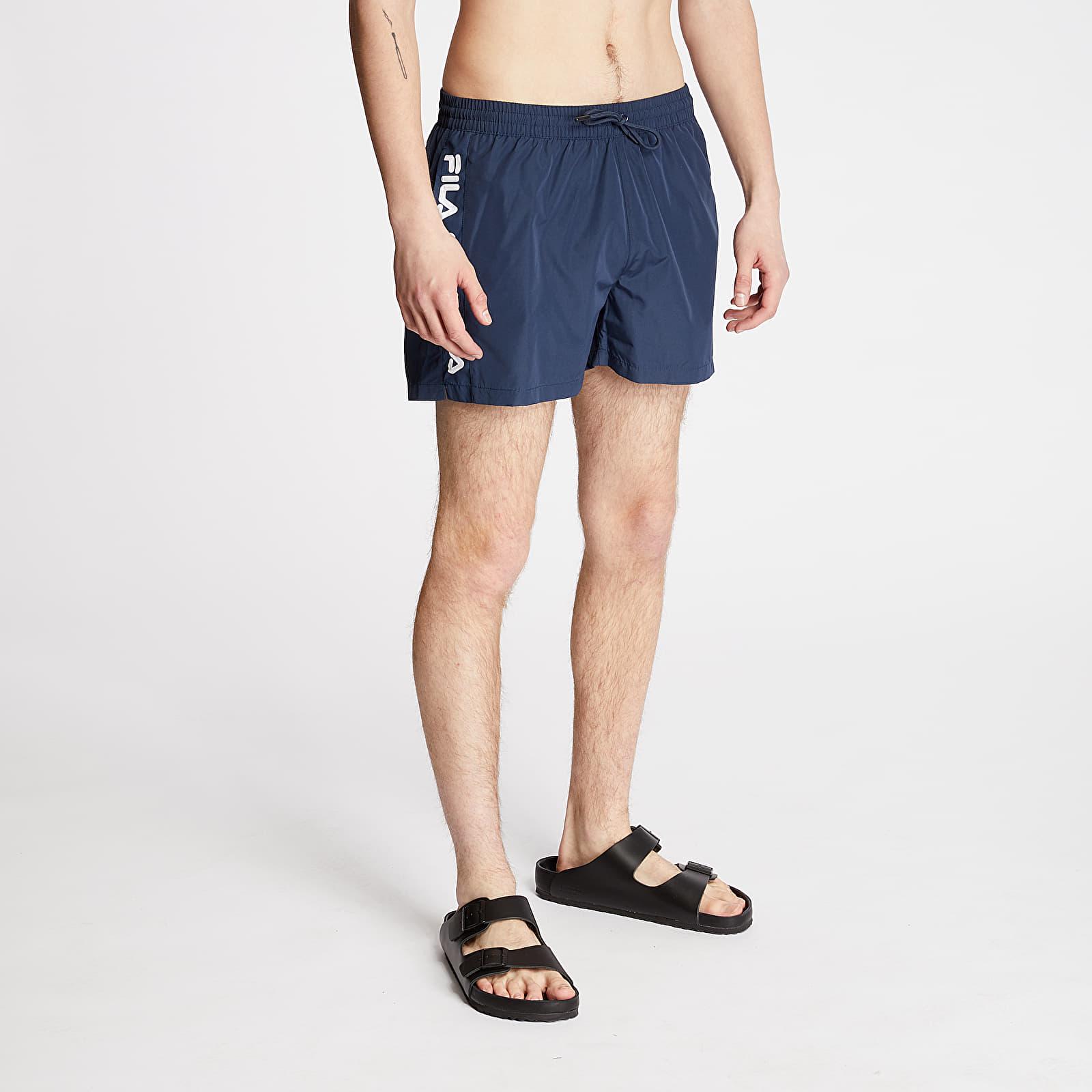 Bademode FILA Sho Swim Shorts Black Iris