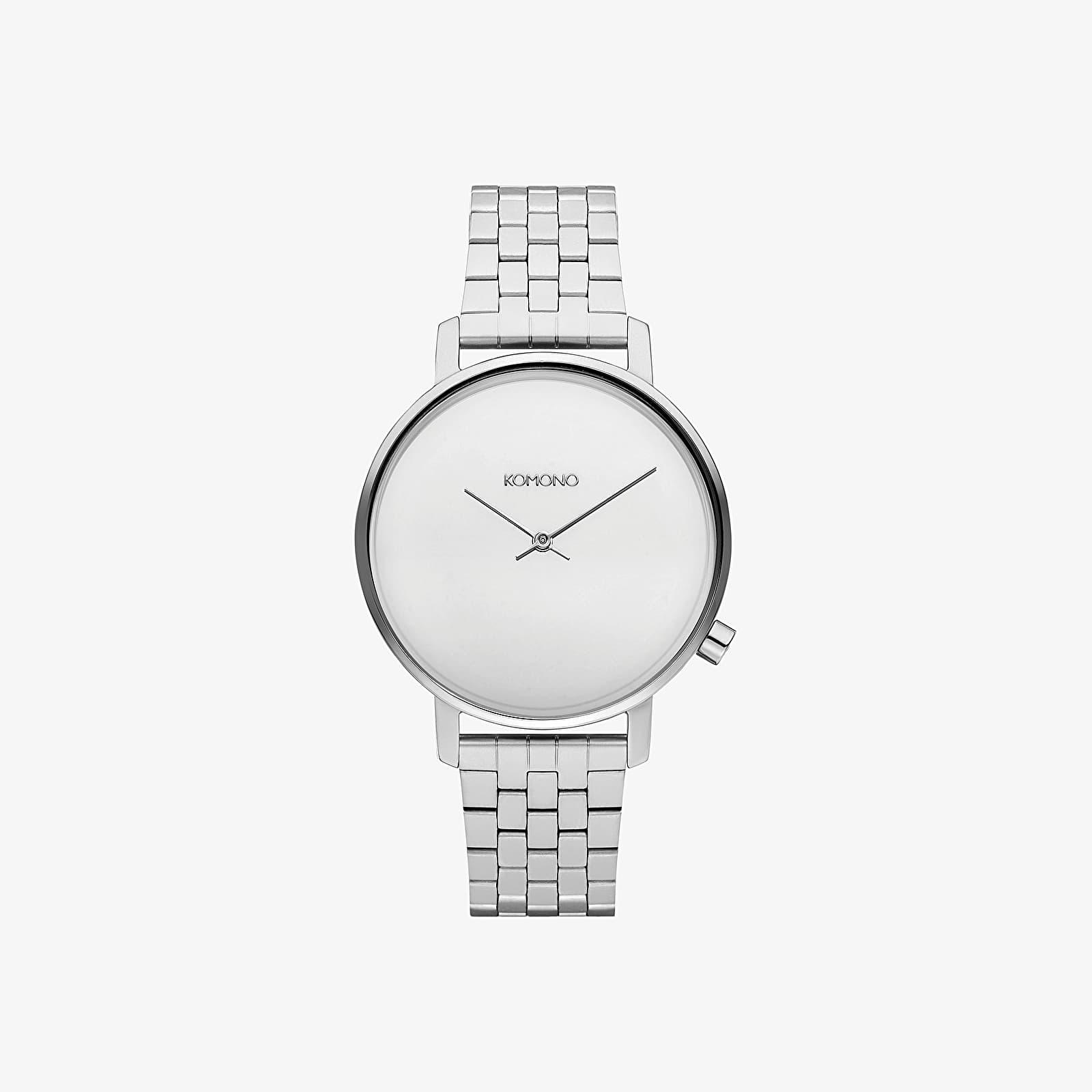 Watches Komono Harlow Estate Watch Silver Mirror