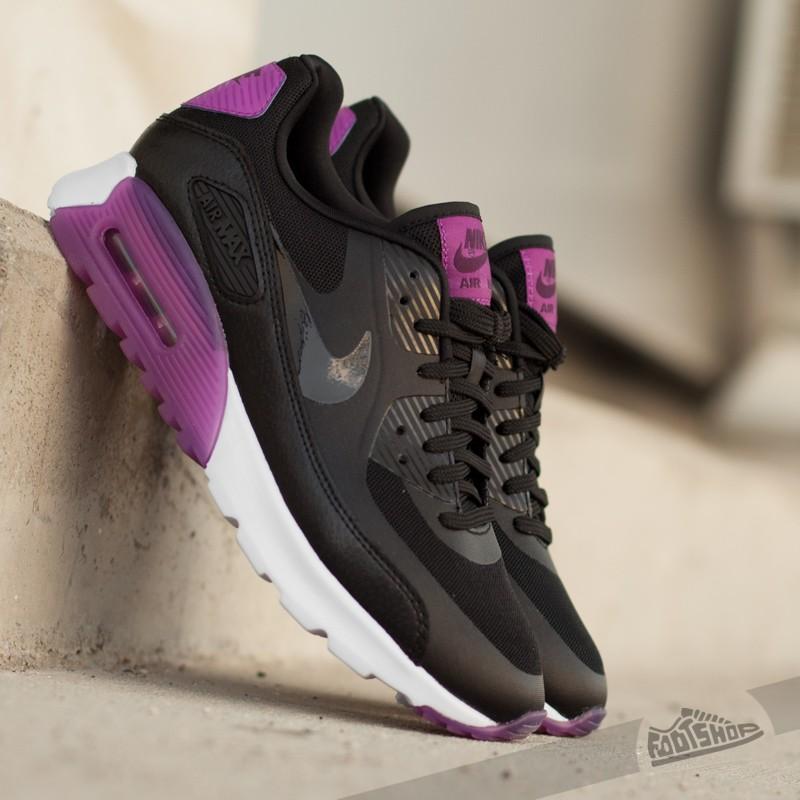 1d53f01f52c4 Nike W Air Max 90 Ultra Essential Black  Black- Purple Dusk- Mulberry ...